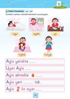 1. Sınıf Konu Anlatım SES FASİKÜLLERİ Grade 1, Writing A Book, Learn English, Language, Teaching, Education, Books, Reading, Learn Turkish