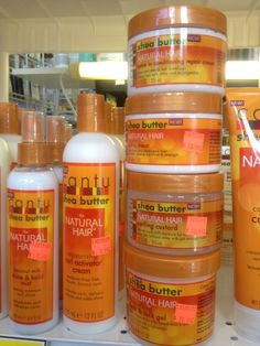 Cantu products for natural hair - Yelp Natural Hair Treatments, Natural Hair Tips, Natural Hair Journey, Natural Hair Styles, Curly Hair Care, Curly Hair Styles, Cheveux Oranges, Cantu Products, Hair Products