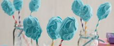 Duncan Hines® Cotton Candy Cake Pops