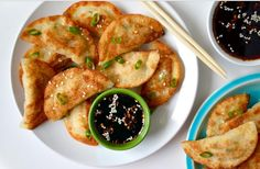 Easy Chicken Potstickers | Food Recipes