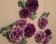 Large Paper Flowers, Paper Flower Wall, Paper Flower Backdrop, Flower Wall Decor, Paper Roses, Flower Decorations, Flower Bouquet Diy, Daisy, Baby Shower