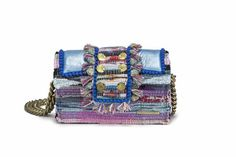 "Shoulder Bag - Hollywood ""Babe"" (NEW) - Metallic Blue"