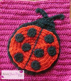 Large Crochet Ladybug Pattern