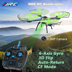 JJRC H98 0.3MP Camera 2.4G 4CH 6Axis 3D Rolling RC Quadcopter RTF