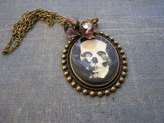 Day of The Dead Frida Pendant Charm Necklace 16 by shabbyskull