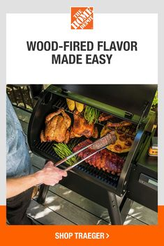 Upgrade your grilling experience when you shop our collection of innovative grills. Get the right tools for adding your unique spin to holiday dinner when you smoke or grill it. Tap to shop grills at The Home Depot. Grilling Tips, Grilling Recipes, Cooking Recipes, Rib Recipes, Chicken Recipes, Chicken Sausage Pasta, Backyard Cookout, Birthday Signs, Grilled Food