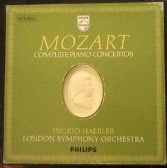Mozart  Klavierkonzerte Haebler   eBay Piano, Blush, Ebay, Postage Stamps, Shopping, Rouge, Pianos