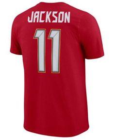 564ce8ab1 Nike Men s DeSean Jackson Tampa Bay Buccaneers Pride Name and Number  Wordmark T-Shirt - Red S