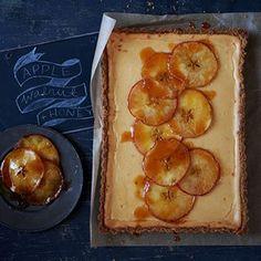 Australian Gourmet Traveller recipe for honey-roast pears with orange-blossom and yoghurt.