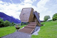 Design of Austrian mountain retreat inspired by UFOs