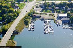 Formerly Stuart Marine. Formerly Old Causeway Marina.  Star Marine, Chemong Lake, Ontario
