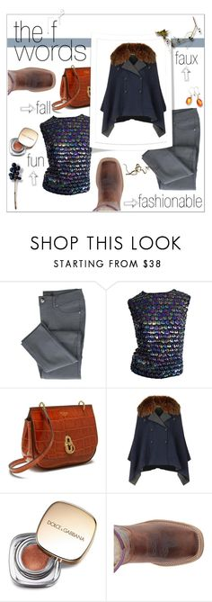 """""""""""F"""" words"""" by onenakedewe ❤ liked on Polyvore featuring Mulberry, Brunello Cucinelli, Dolce&Gabbana and Laredo"""