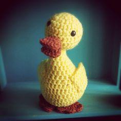 Crocheted Duck Doll!