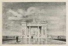 Bratislava, Taj Mahal, Building, Painting, Travel, Art, Art Background, Viajes, Buildings