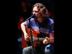 Eddie Vedder covers Hurt.  I love the song...eddie covering it, amazing!