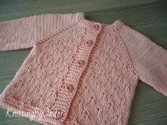 Pink baby girl cardigan Hand knitted cotton cardigan Newborn powder cardigan Baby girl sweater Infan Baby Knitting Patterns, Hand Knitting, Baby Girl Cardigans, Knit Vest, Lana, Baby Knits, Trending Outfits, Ideas Para, Sweaters