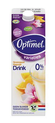 7-6-2013 Optimel Drink Sinaasappel Magnolia, tijdelijk, new: 7/10 taste: 7/10 pack: 6/10 overall score 6,8/10 | product info online redelijk