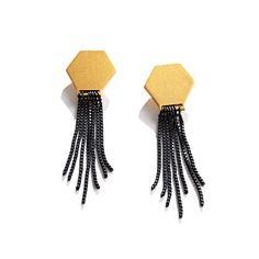 secret shapes earrings.
