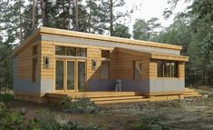 Green Pod Homes and just the right size for someone that wants to downsize their living space and expense.