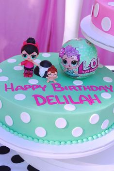 Delilah's Surprise LOL | CatchMyParty.com