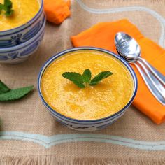 Ginger Carrot & Sweet Potato Bisque #SexyShred Options in recipe to swap out half and half to make it vegan.