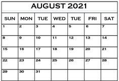 Calendar 2019 Template, Calendar Printable, August Calendar, Blank Calendar, Fillable Calendar, Ipad, Printables, Notes, Templates