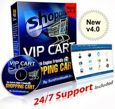 VIP Shopping Cart Software