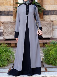 Double Layer Abaya from SHUKR