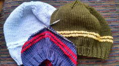 Kat Knits (and Purls): Morse Code Message Cap (aka the F..-ck Cancer Cap)