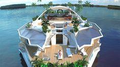 Solar Floating Island #island #solar #renewables