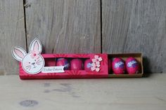 Ostereierverpackung Friends & Flowers, Bild2, gebastelt mit Produkten von Stampin' Up!