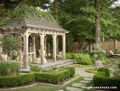 Small Backyard Gardens, Small Backyard Landscaping, Outdoor Gardens, Backyard Ideas, Landscaping Ideas, Big Backyard, Formal Gardens, Luxury Landscaping, Rustic Backyard