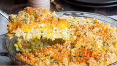 Pudding & Souse Entree Recipes, Sauce Recipes, Pie Recipes, Cooking Recipes, Veggie Recipes, Healthy Cooking, Dinner Recipes, Sweet Corn Pie Recipe, Bajan Recipe
