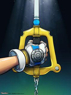 The Keyblade by FilmmakerJ.deviantart.com on @DeviantArt