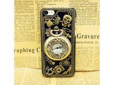 3D #Vintage Style #Pocket watch iPhone #5C Case