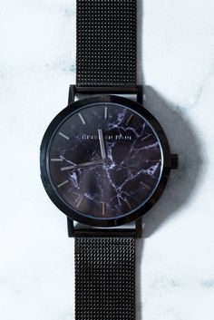 The Strand Marble Mesh 43mm Watch