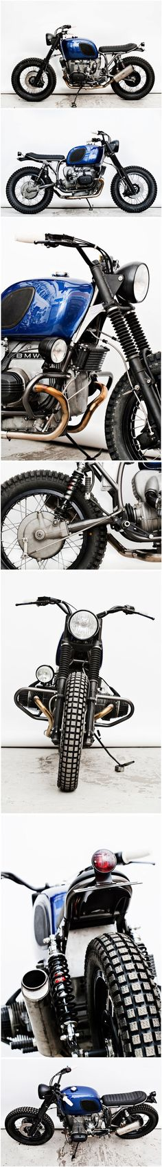 Brutal #BMW R100 RT by Wrench Monkees