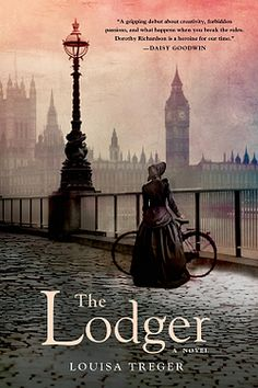 Enter a Book Giveaway - To win a complimentary Hardcopy of THE LODGER By Louisa Treger   Oct 15-21, 2014.  A beautifully intimate novel, an introduction to one of the most important writers of the 20th century; a compelling story of one woman tormented by unconventional desires.  (1 of 3) US and Canada