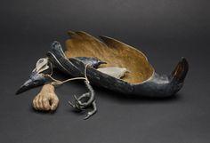 Hib Sabin | Raven Vessel with Amulets