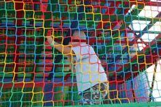 Climbing up to the bouncy slide!  - Park City Mountain Resort - evo'11 (formerlyphread.com) #evoconf