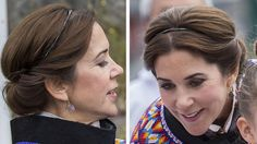 GALLERY: Princess Mary's many frisur 2014 | Billed Bladet