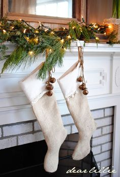 Dear Lillie: Jamie and Josh's Christmas Living Room
