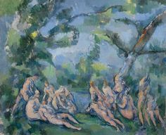 Paul Cézanne. The Bathers, 1899/1904. Amy McCormick Memorial Collection.