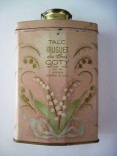 Ca.1920's Dusting Powder, Sachet