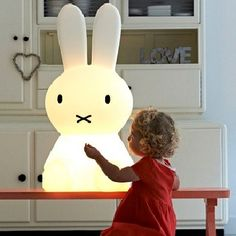 To know Miffy is to love Miffy. Even if you're not familiar with this cute and quirky character from Holland's best-selling children's book series, you can still invite her into your home to light up your life. Sweet and serene, the Miffy lamps work as nightlights for kids and adults alike. While starting out as …