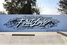 First Love Mural on Behance