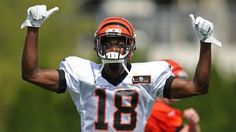 Can AJ Green be the #4 WR this season behind the major 3?