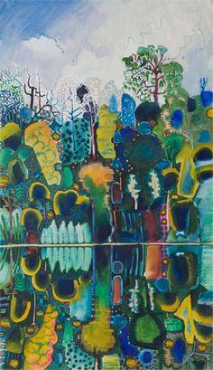 MICHAEL ADAMS ART GALLERY (SEYCHELLES) - Artist, Silkscreens, Paintings Seychelles, Painting Gallery, Art Gallery, Garden Inspiration, Printmaking, Art Pieces, Pastel, Paper Crafts, Landscape