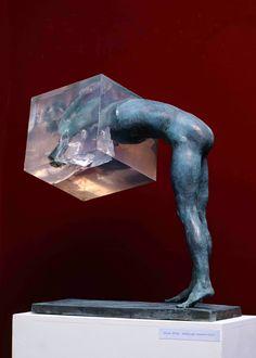 sculptures by Ukrainian artist Nazar Bilyk