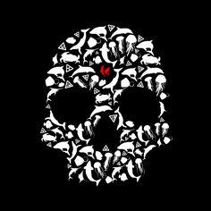 KRANE - Vanity, bones and skull ☠ illustrations and painting Crane, Skull Illustration, Bones, Painting, Skull, Painting Art, Paintings, Painted Canvas, Drawings